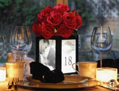Illuminated Photo Vase