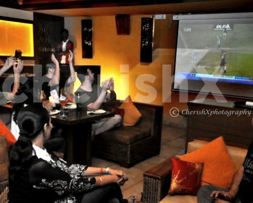 Watch your favourite movies or live matches on a projector at home