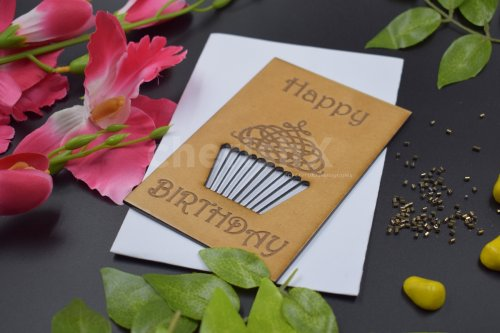 Birthday Wooden Card