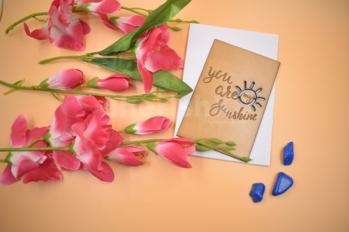 Wooden You Are My Sunshine Card
