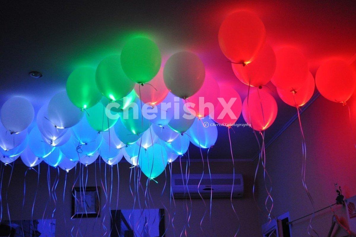 Glowing Balloon Decor