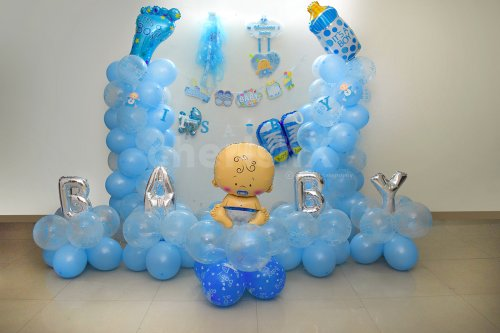 Welcome Baby Boy Decor
