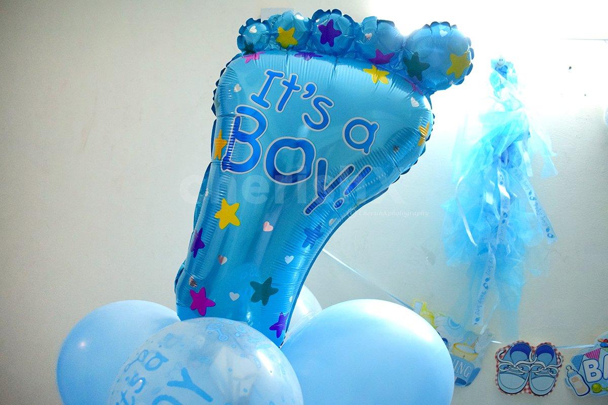 Welcome Baby Boy Decor