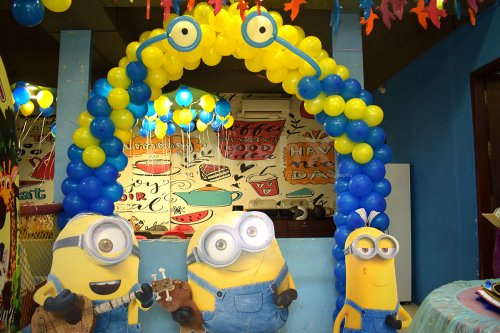 Minion Theme Birthday Decor