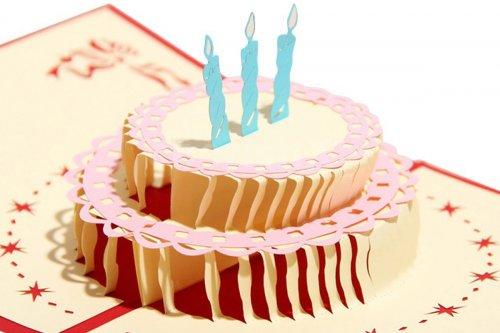 Birthday 3D Pop-Up Card