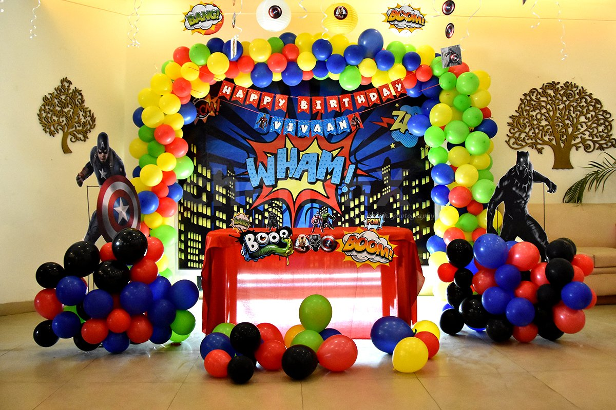 A full package decor to have for your Kid's Party Decorations.