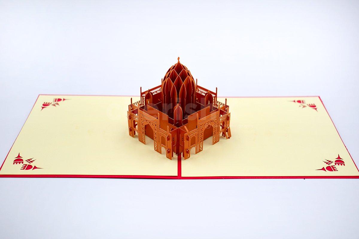 Taj Mahal 3D Pop Up Card