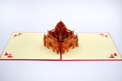 Taj Mahal 3D Pop Up Card