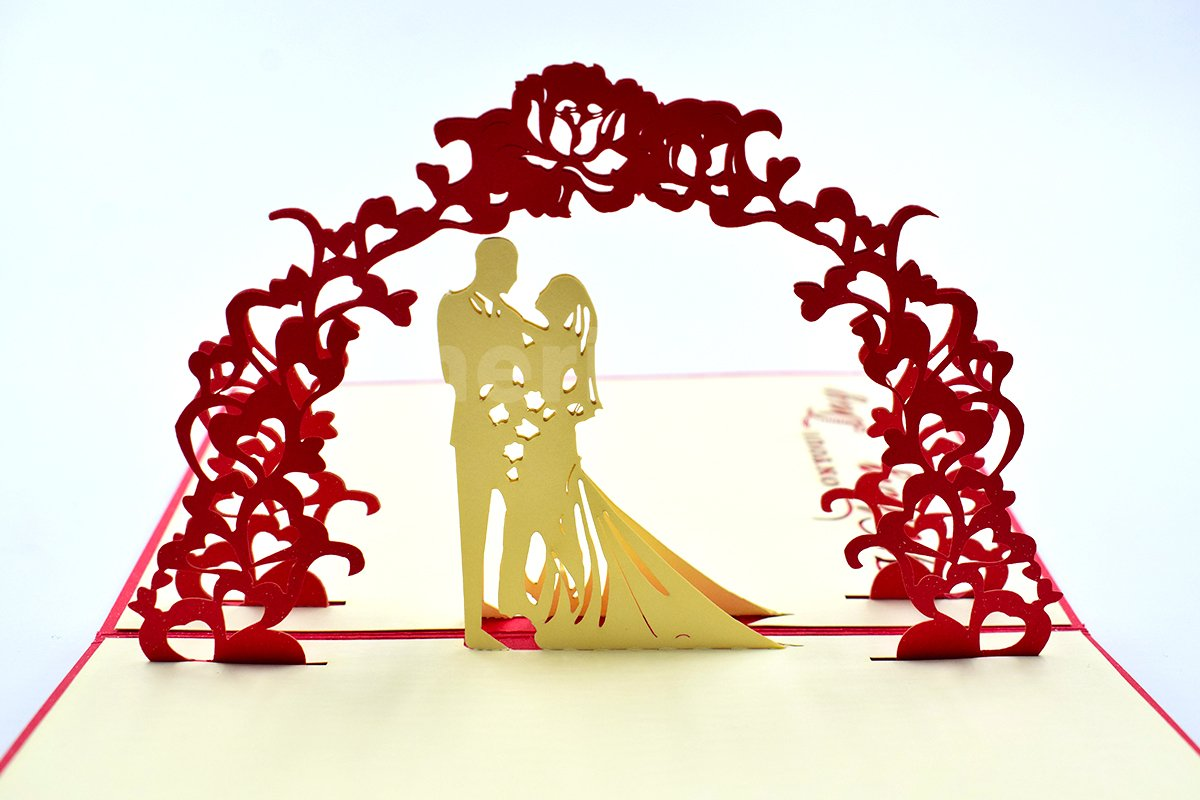 Anniversary 3D Pop-Up Card