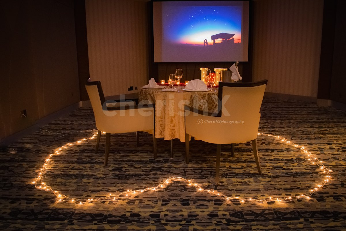 Romantic Private Dining