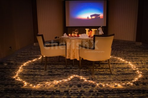 Romantic Private Dining at Radisson