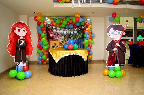 Harry Potter Themed Birthday Decoration for Kid's Birthday.