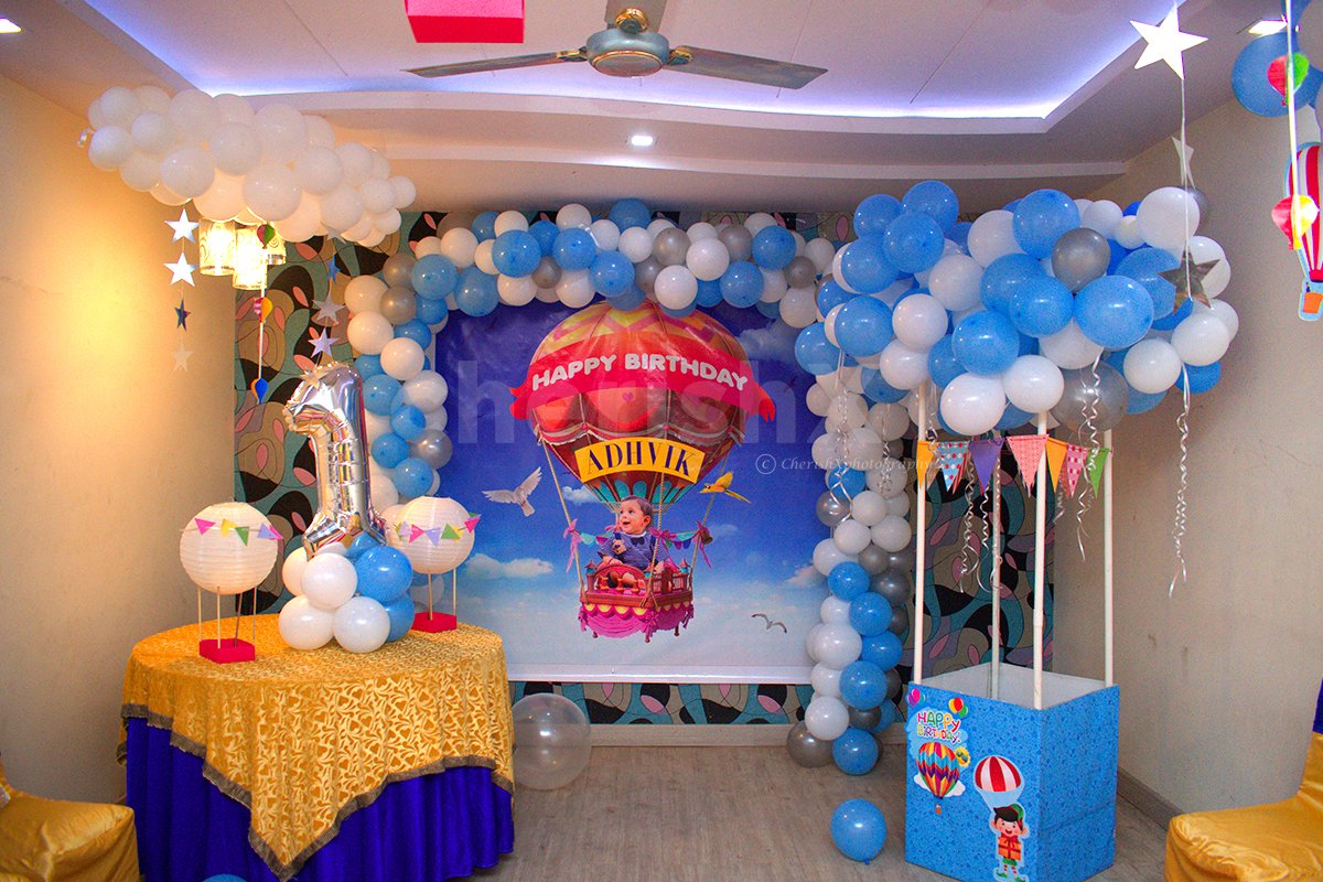 Flying Air Balloon Decor