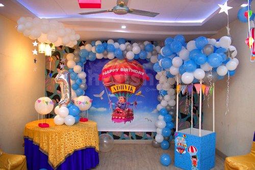 Hot Air Parachute Themed Decor For Kids in Delhi NCR, Bangalore
