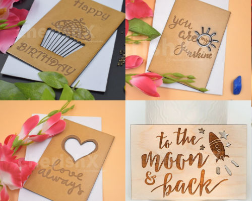 Add a heartfelt wooden card