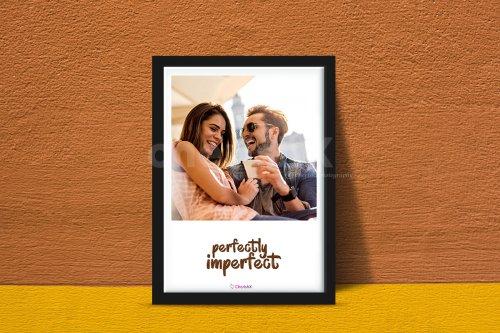 Photo Frame With Custom Text