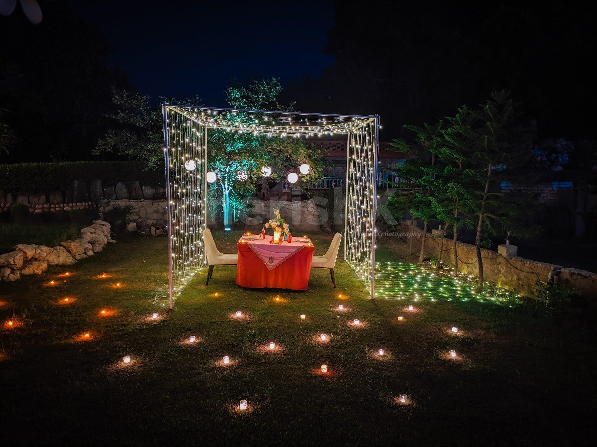 Fairy light Cabana Dinner