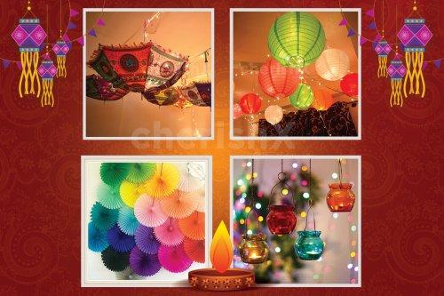 Customizable Diwali Decoration