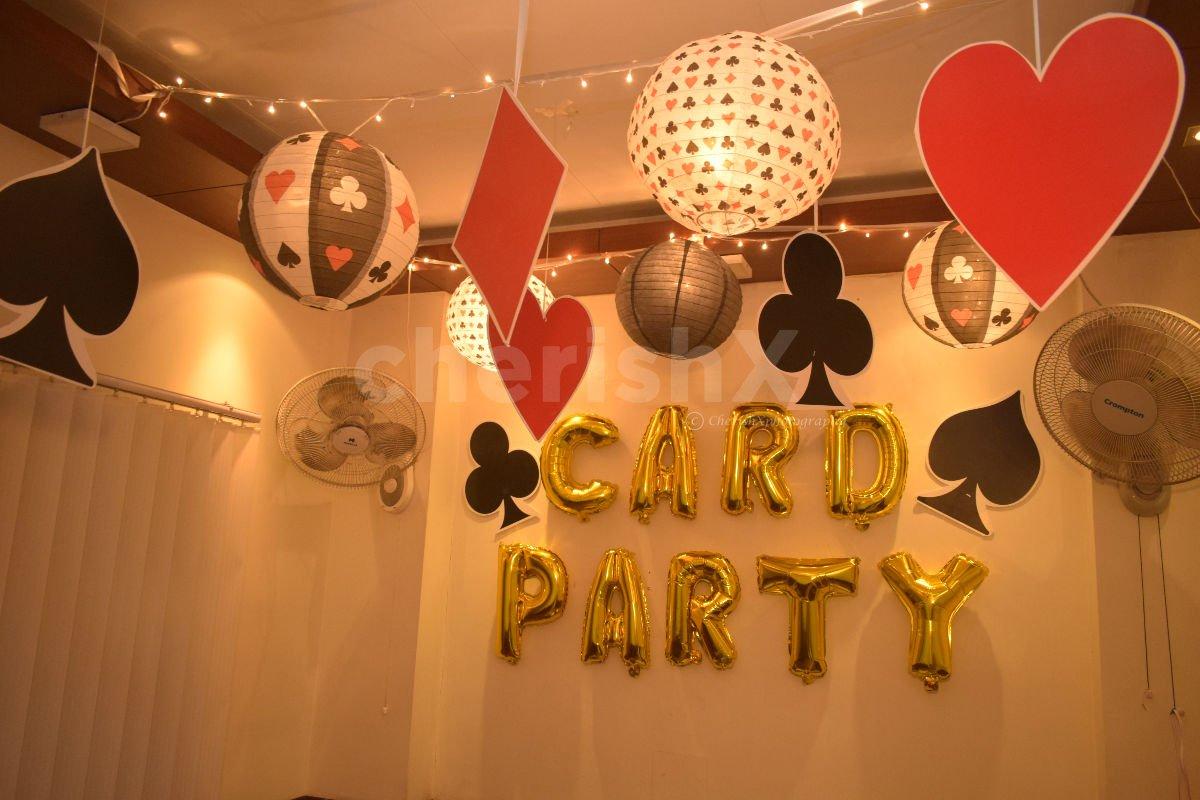 Poker Themed  Decor