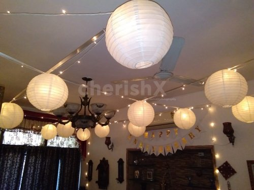 Fairy Lights and Lantern Surprise