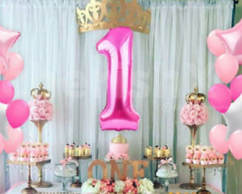 Add a Number Foil Balloons