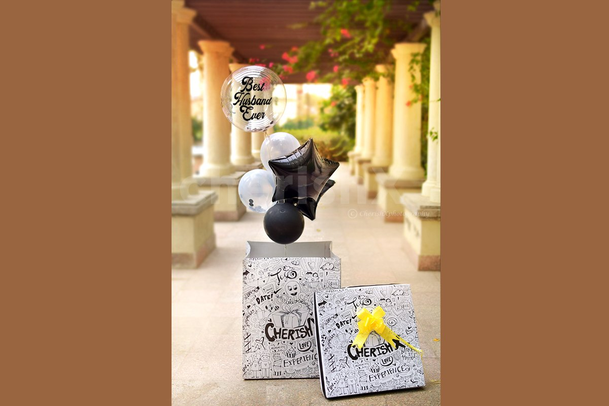 Gift this beautiful surprise box to your loved ones and make their day.