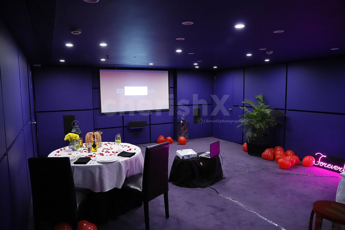 Private Movie & Dinner MG Road