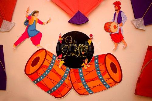 Lohri Decoration