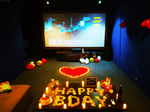Luxurious and Fun Private Movie Date