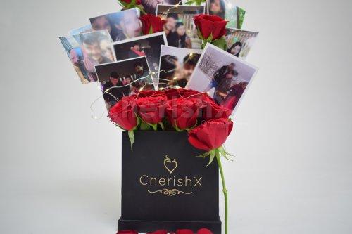 CherishX's Rose Bucket with Photos.