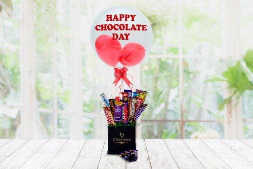 Chocolate Bubble Surprise
