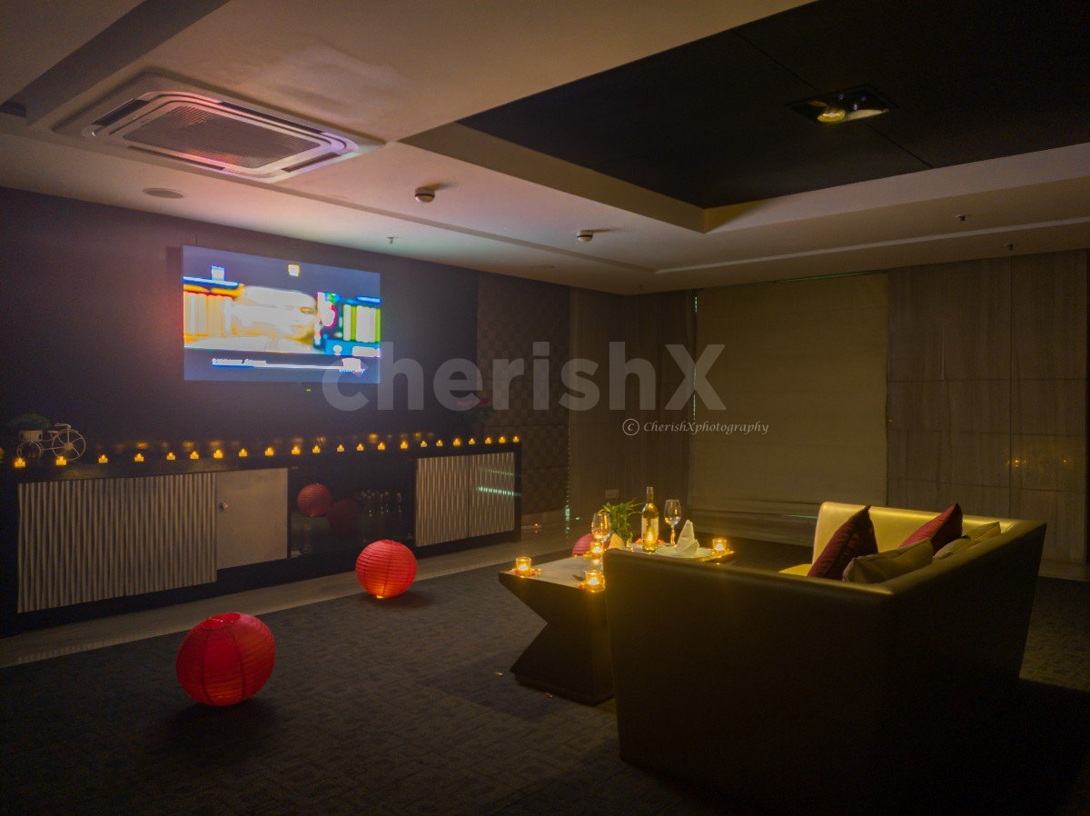 Private Candlelight Dinner with Movie in Country Inn, Gurgaon