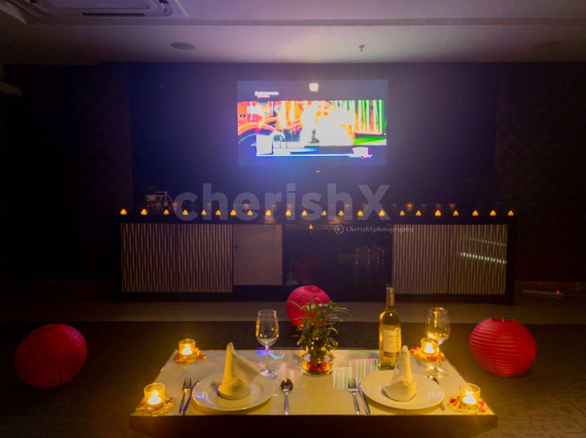 Private Dinner with Movie Screening in Country Inn, Sector 29, Gurgaon