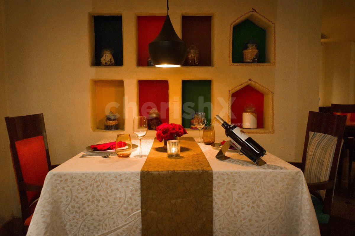 Taj Vivanta Valentine's Dinner at Paranda