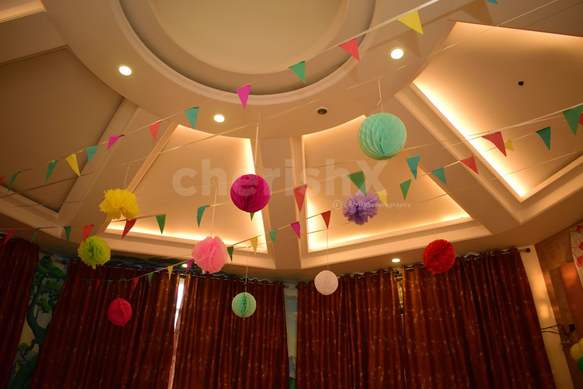 Vibrant Ceiling Decor