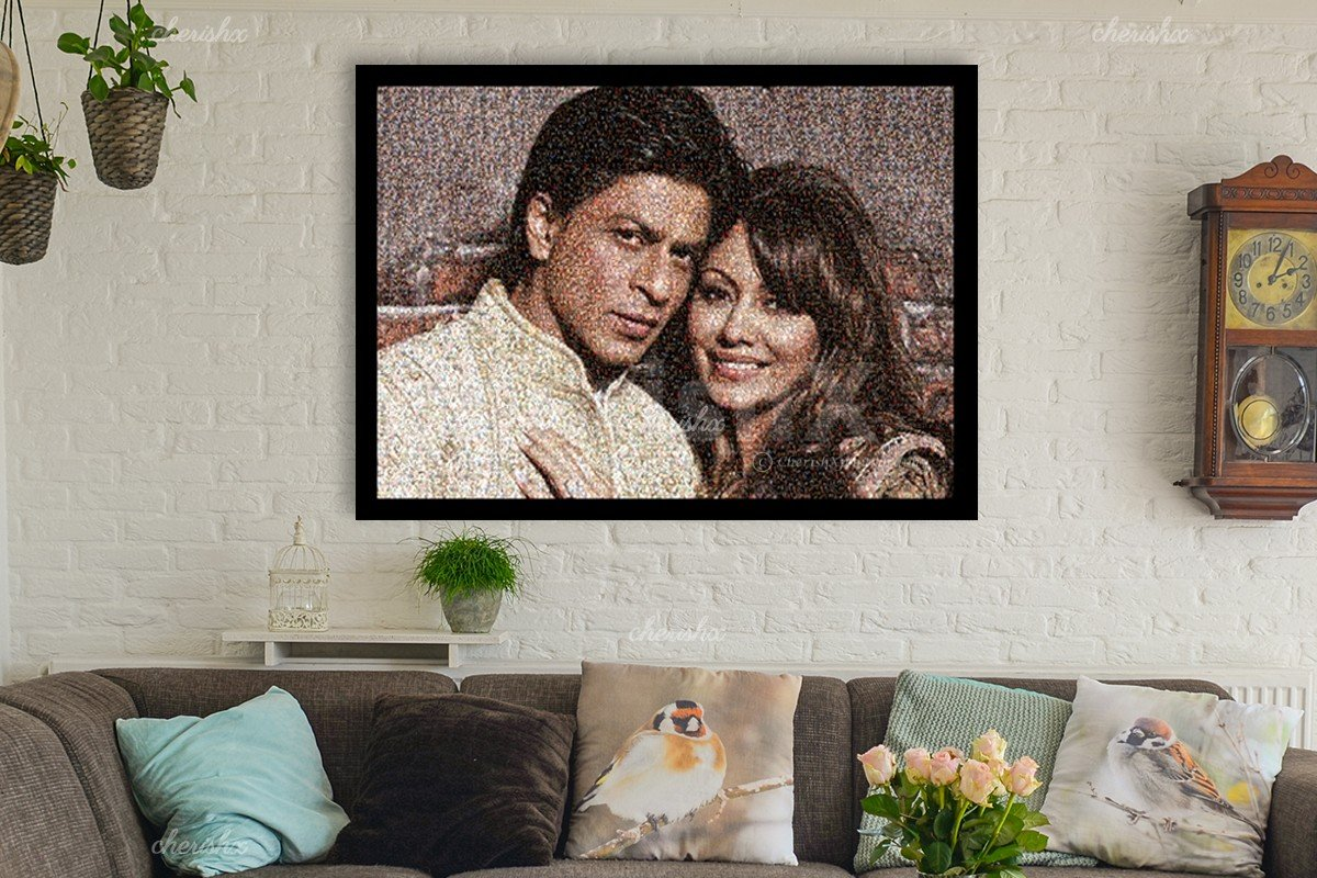 Shahrukh Khan and Guari Khan to give you more idea of CherishX's Picture of Pictures.