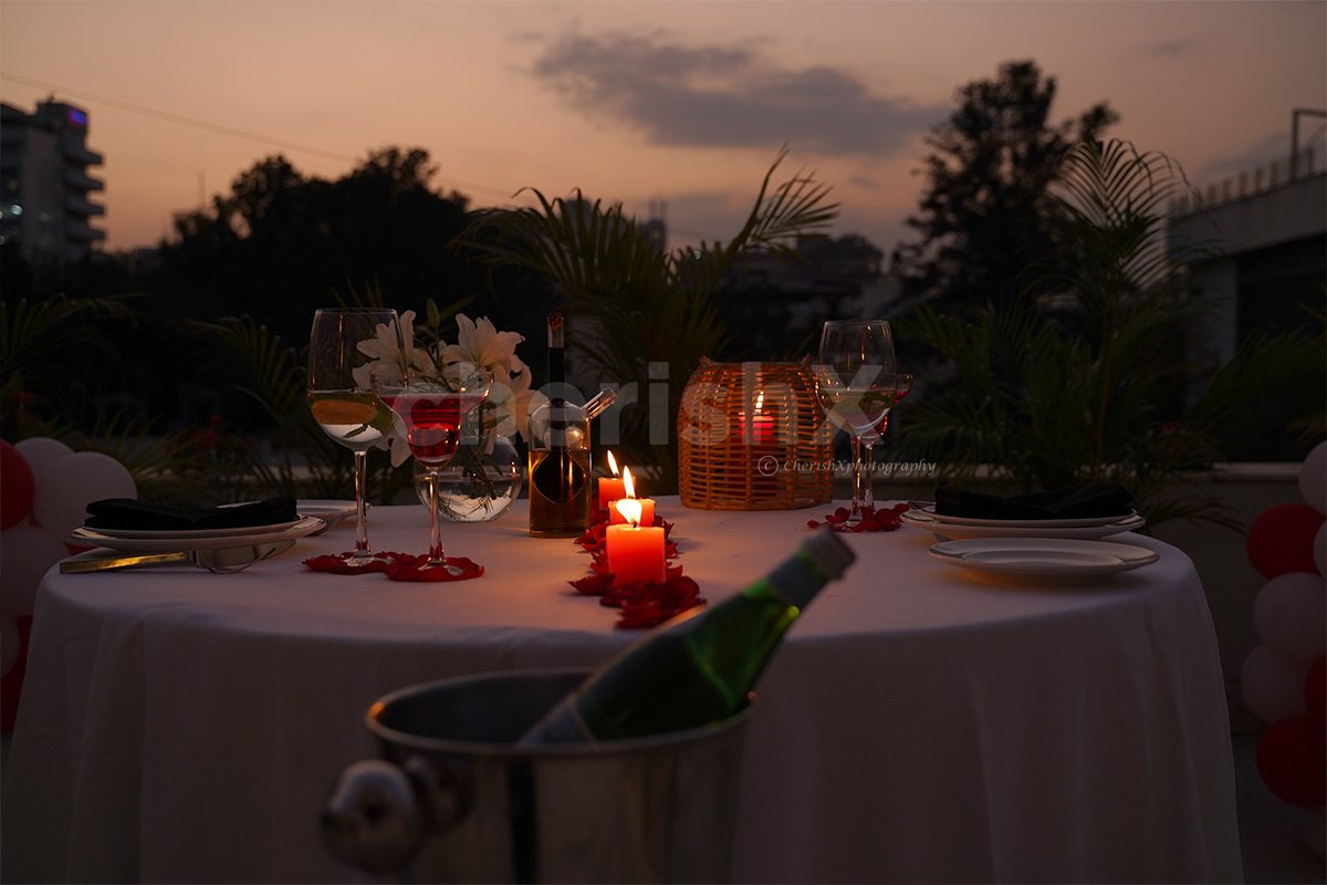 Private Outdoor Dinner at Park Hotel
