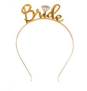 Add a bride tiara