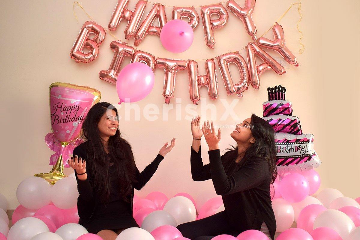 Pretty Pink Theme Birthday Decorations