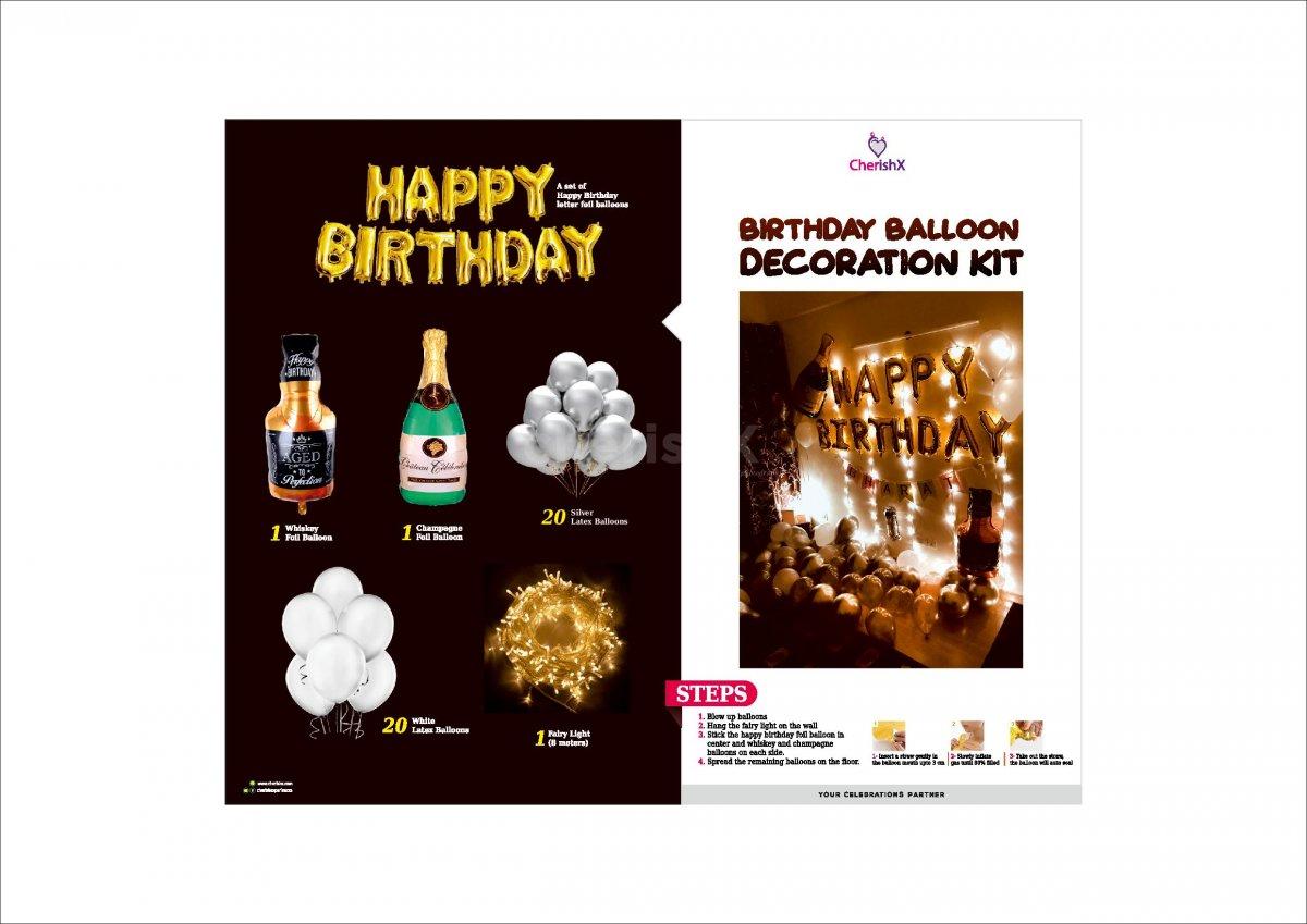 DIY Birthday Decoration Kit