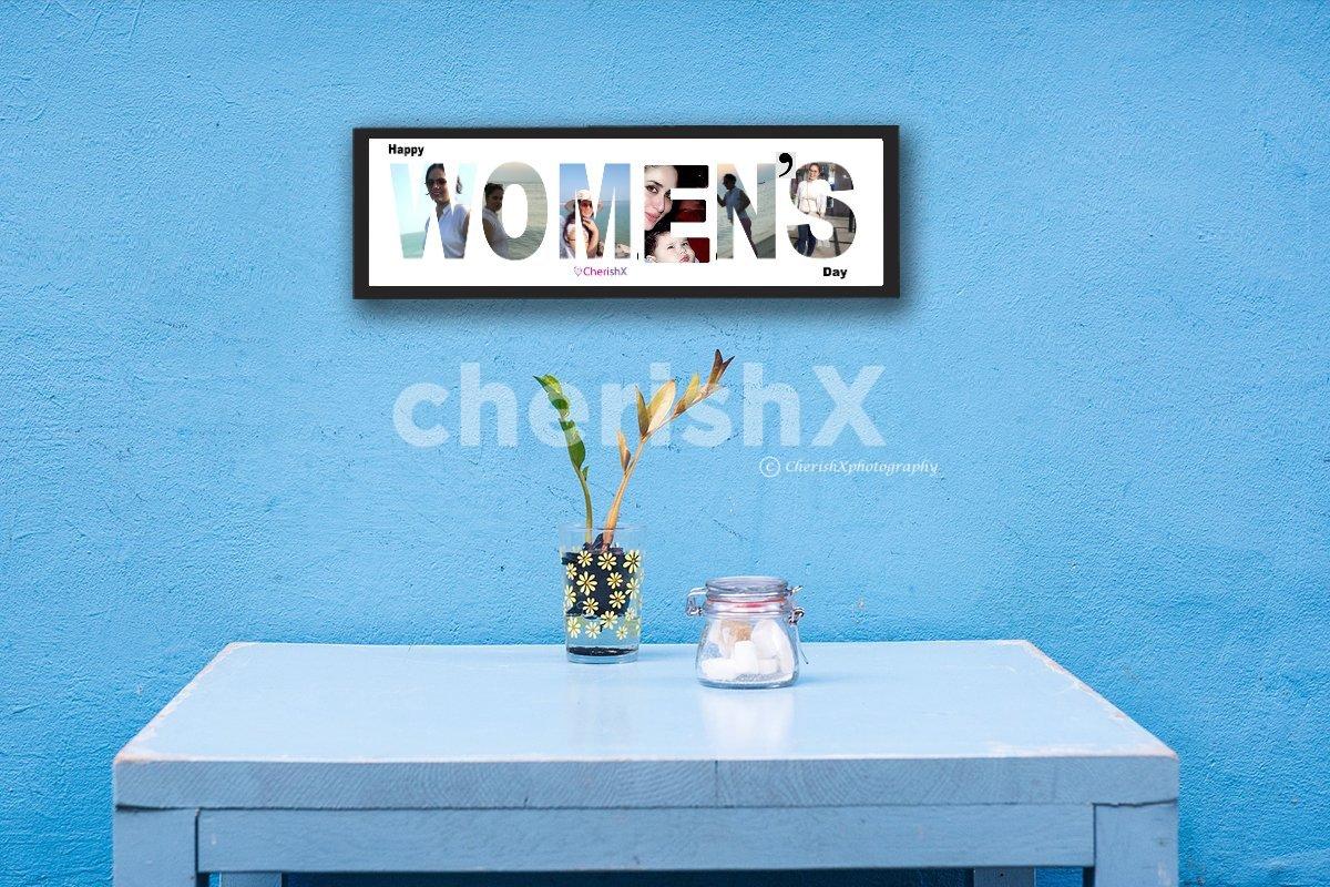 Digital Name Frame