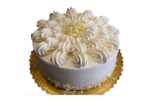 Fresh Vanilla  cake delivered at your home for your birthday