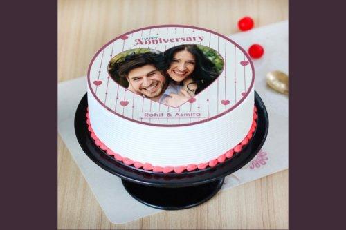 Premium photo cake by cherishx