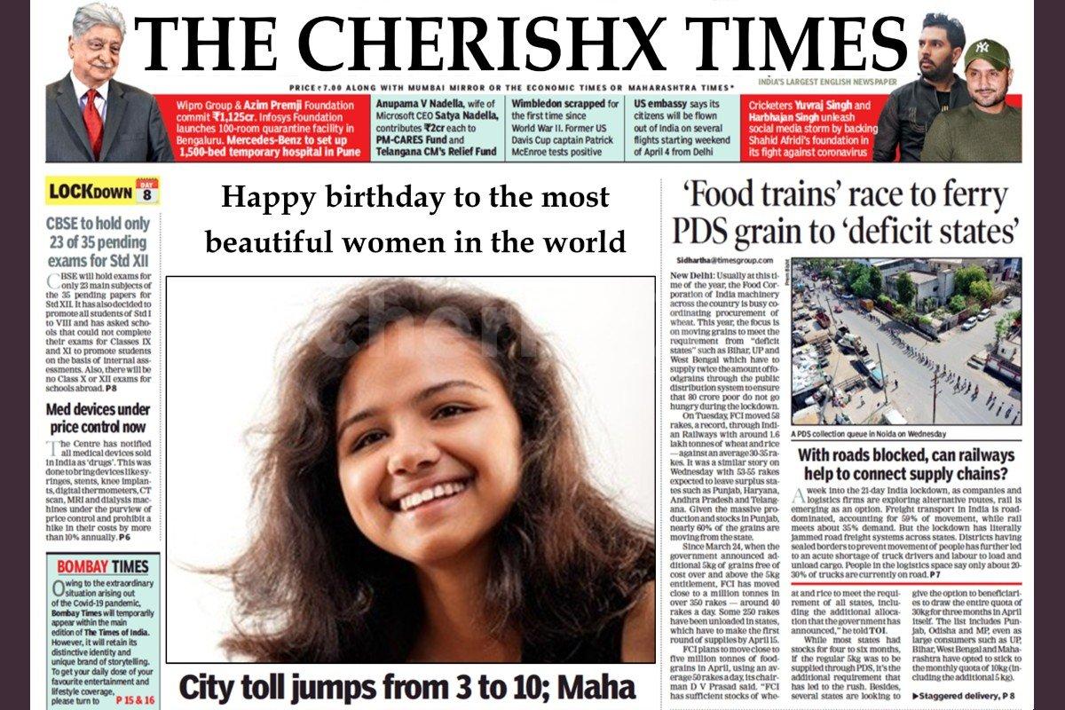 E-News Paper Surprise