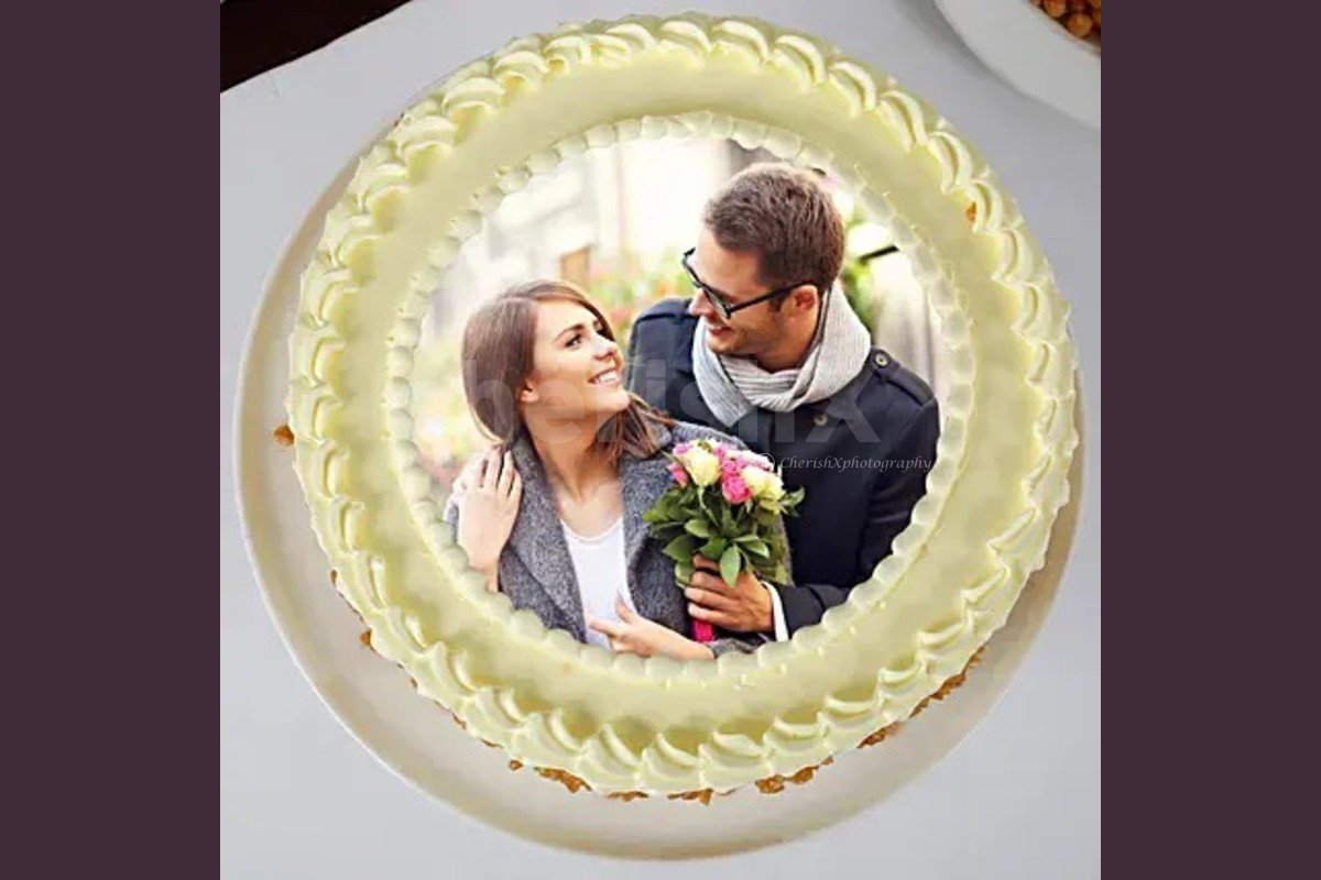 photo cake butterscotch flavor