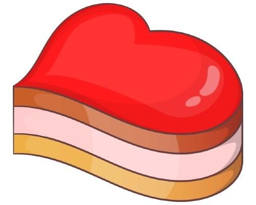 Convert to heart shape