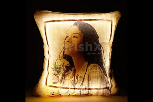 Personalised LED Cushion