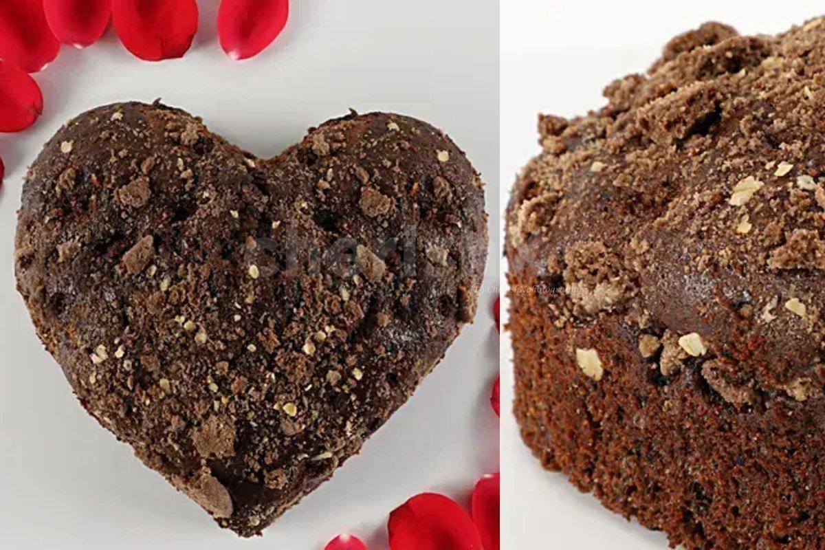 Chocolaty choco oreo dry cake