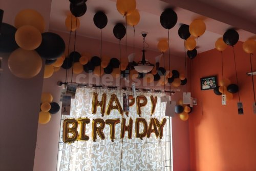 Birthday Balloon Decoration for Wife
