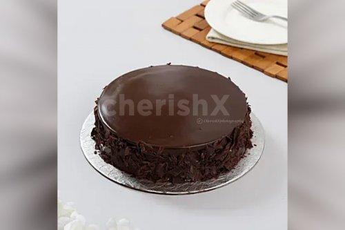Belgian Chocolate Cream Cake (Half Kg)